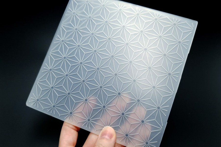 Geometric Flowers 2 (15x15) - Plastic Texture 4