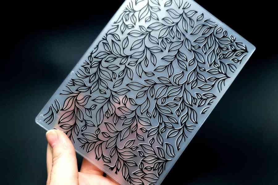 Leaves 2 (10.5x14.5) - Plastic Texture 3