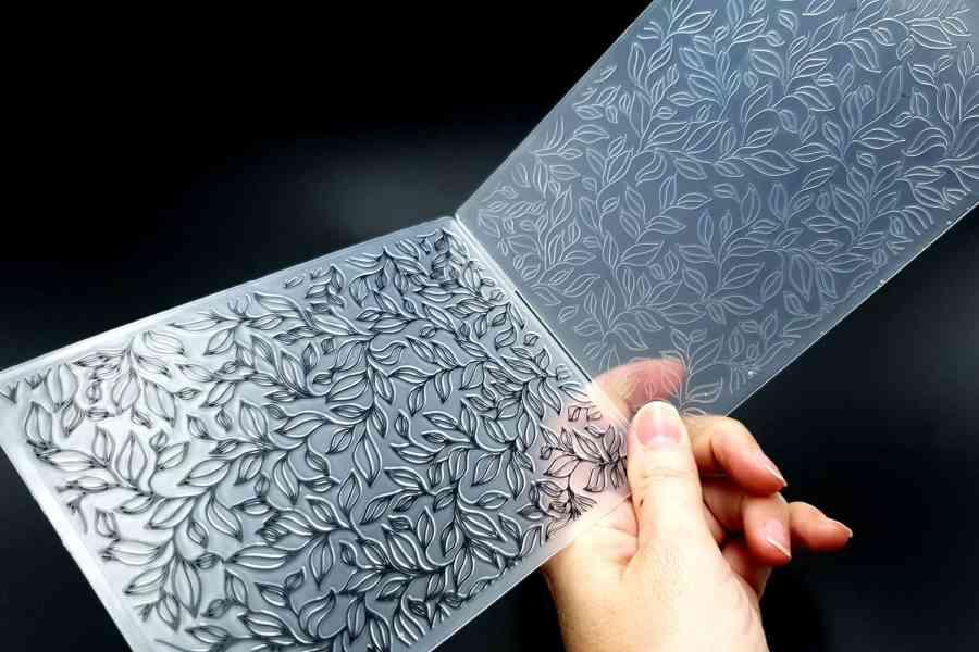 Leaves 2 (10.5x14.5) - Plastic Texture 5