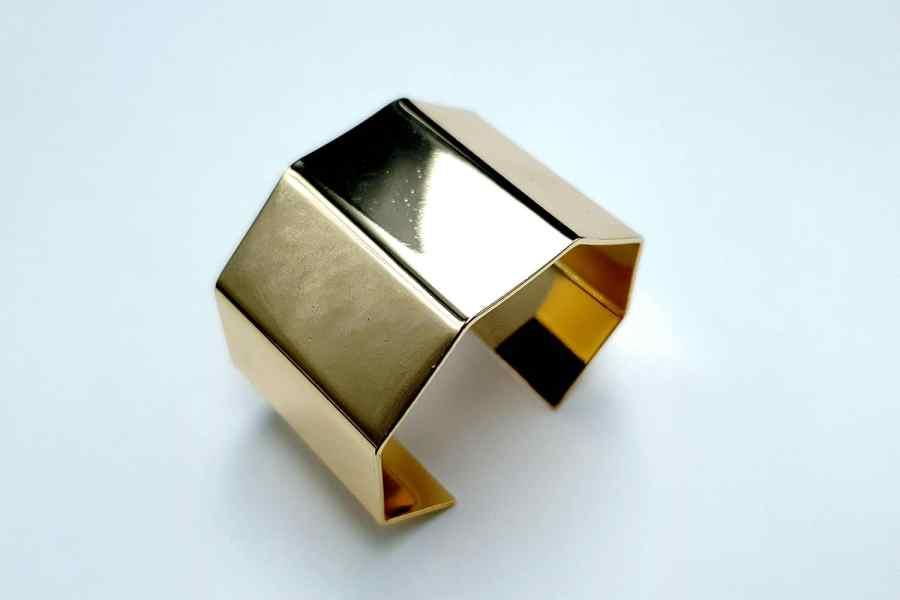 Metal Bracelet Base, 40x60mm 2