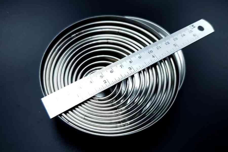 Round Shape Cutters, 12pcs, 3-12 cm 2