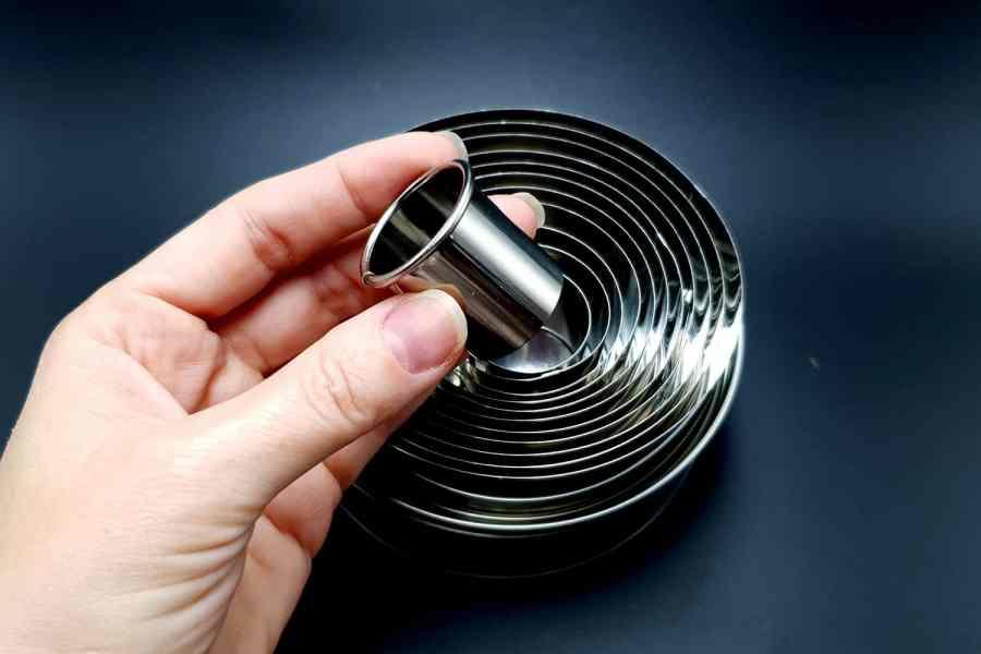 Round Shape Cutters, 12pcs, 3-12 cm 5