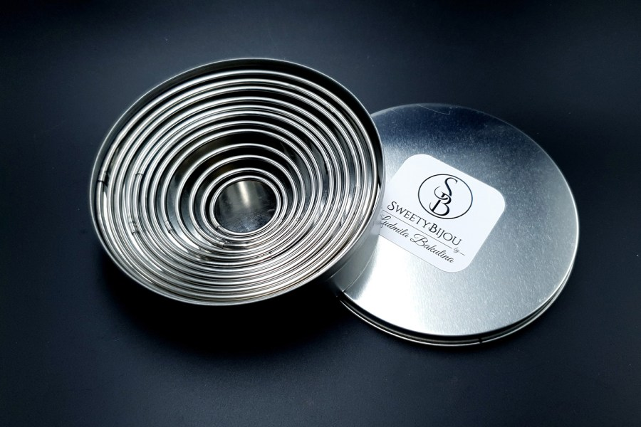 Round Shape Cutters, 12pcs, 3-12 cm 8