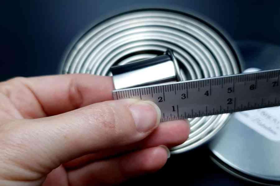 Round Shape Cutters, 12pcs, 3-12 cm 9