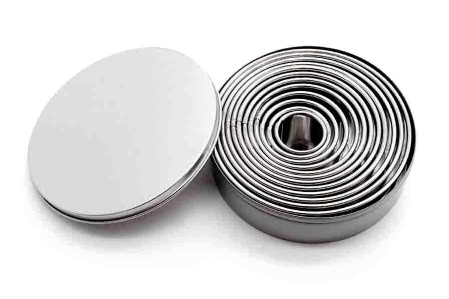 Round Shape Cutters, 12pcs, 3-12 cm 10