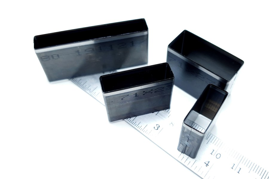 Sharp Cutters Long Rectangle shape, 4pcs 10