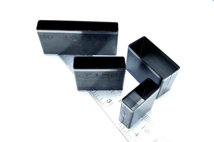 Sharp Cutters Long Rectangle shape, 4pcs 11