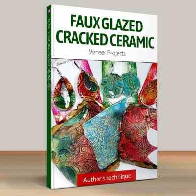 Part 1. Faux Glazed Cracked Ceramic