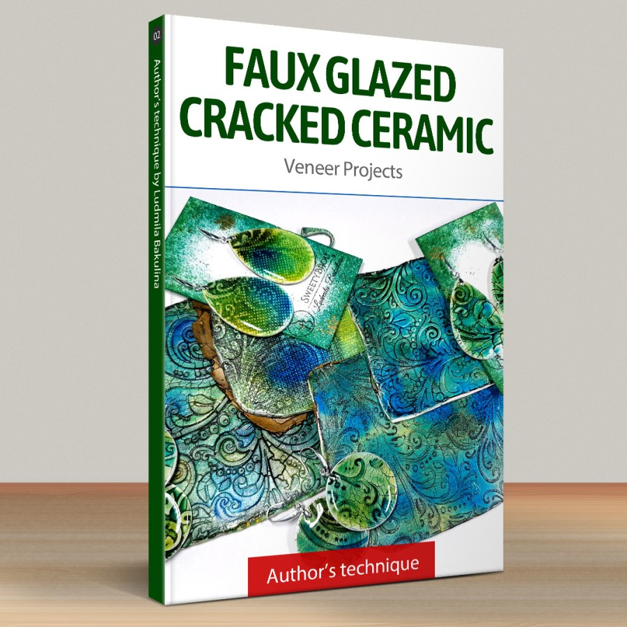Part 2. Faux Glazed Cracked Ceramic