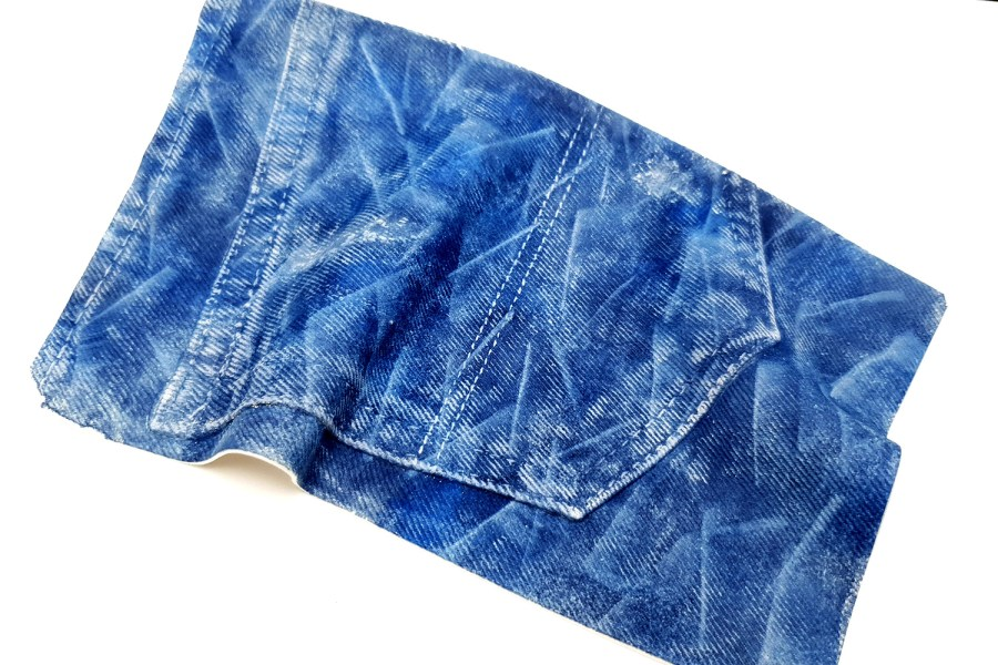 Jeans Fabric #7, 190x125mm 10