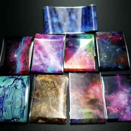 Transfer Foils Set of 9 pcs – The Universe
