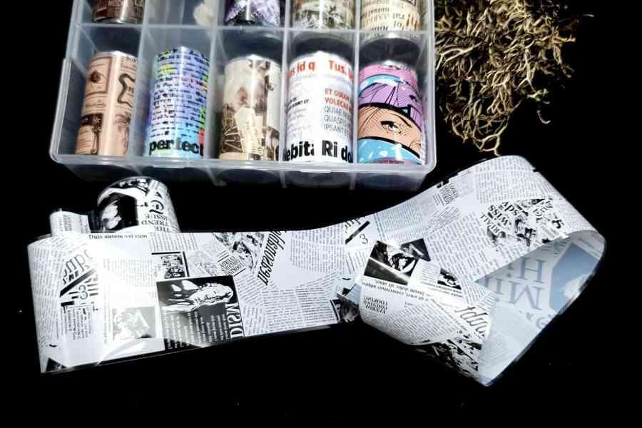 Newspaper Foils (4x100cm)