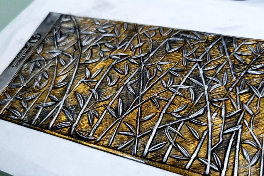 """Silicone Texture """"Bamboo Forest"""" 8"""