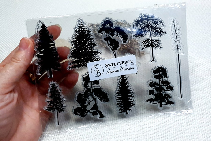 Forest - Clear Silicone Stamp 1