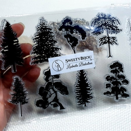 Forest – Clear Silicone Stamp