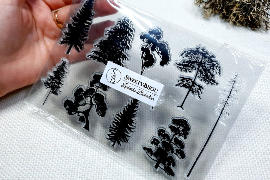 Forest - Clear Silicone Stamp 3