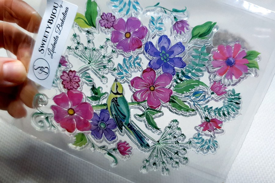 Flowers - Clear Silicone Stamp 1