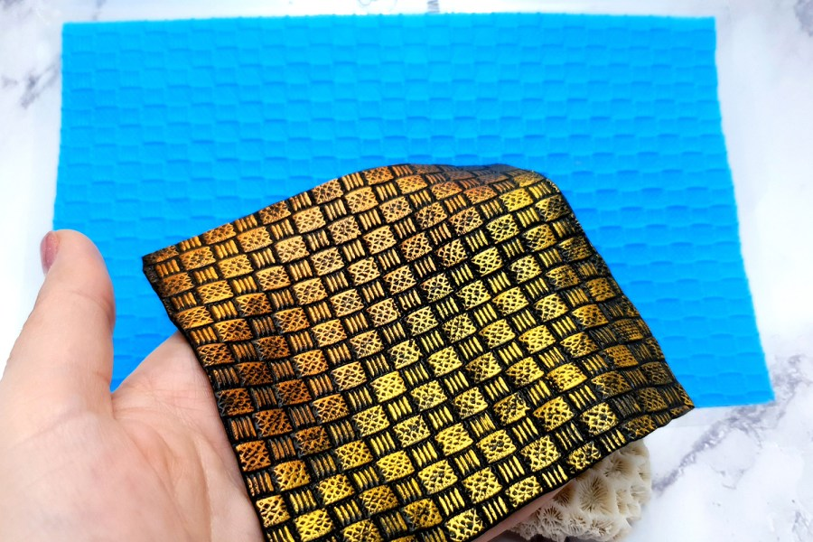 Super Thin Texture - Wicker Rug (190x110) 7