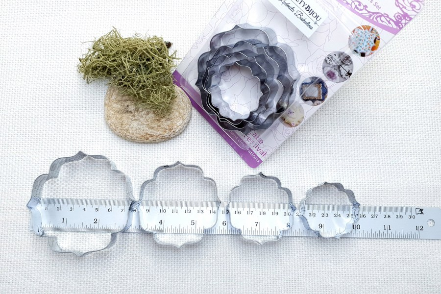 4 pcs Stainless Steel Round Shaped Cookie Cutters 5
