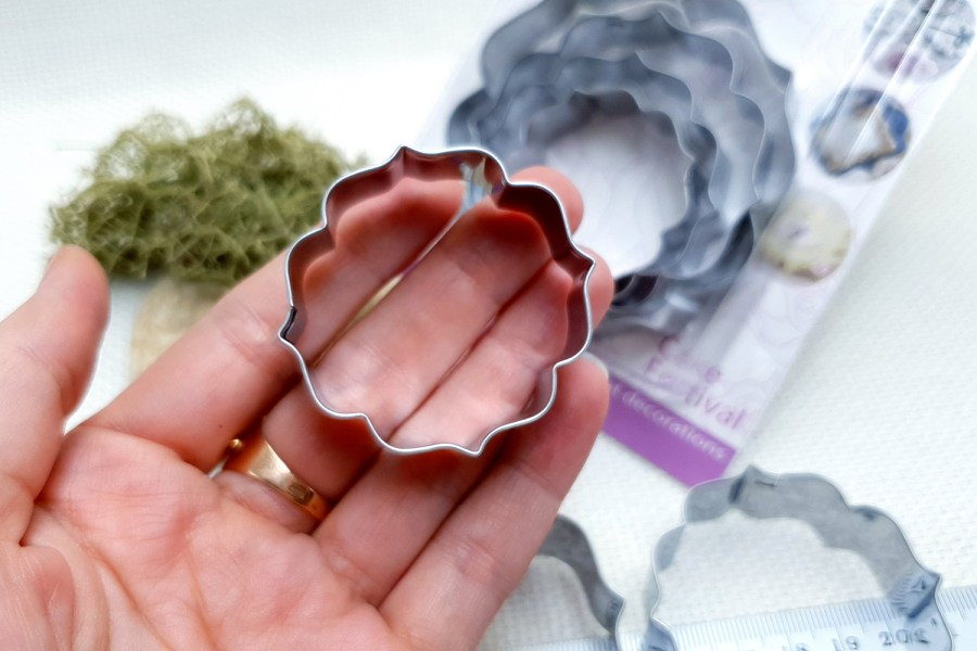 4 pcs Stainless Steel Round Shaped Cookie Cutters 6