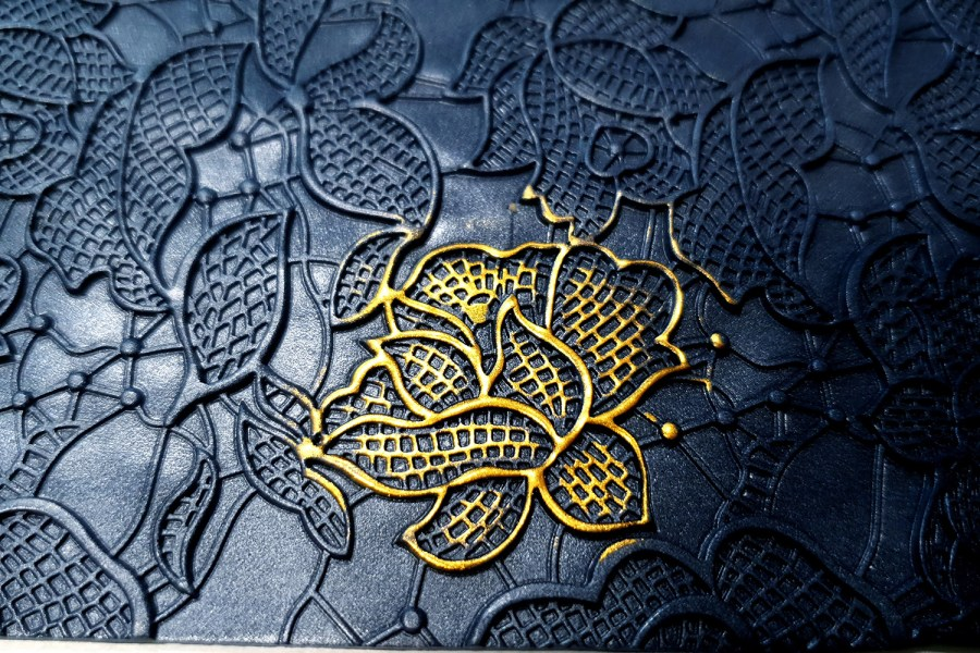Flowers Net Lace - 110x185mm