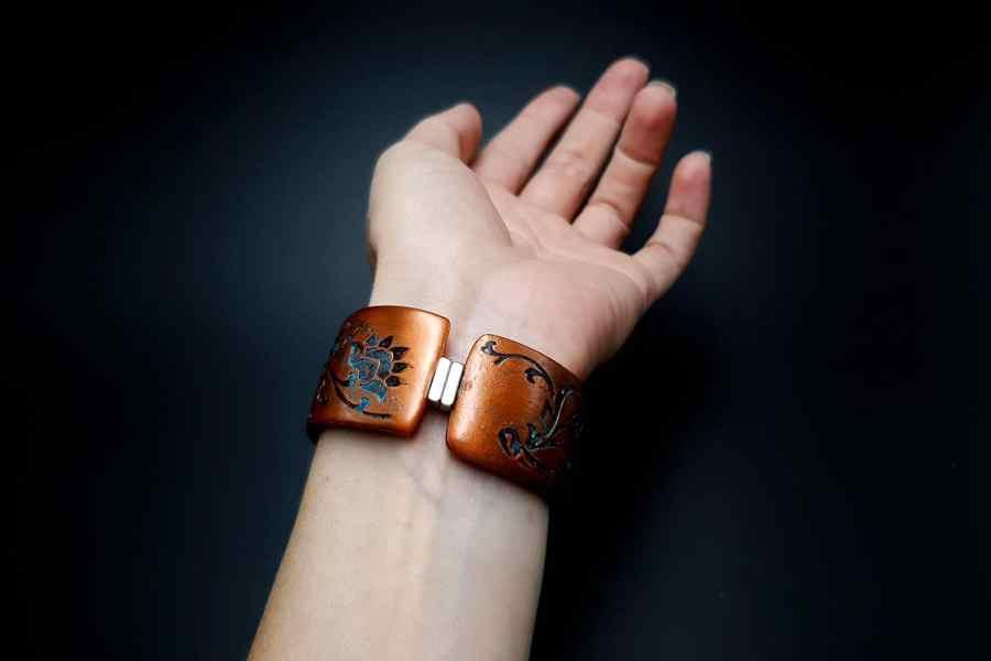 Faux Copper Bracelet