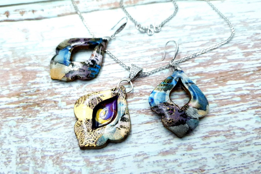 """Jewelry set """"The Marvelous East"""" 11"""