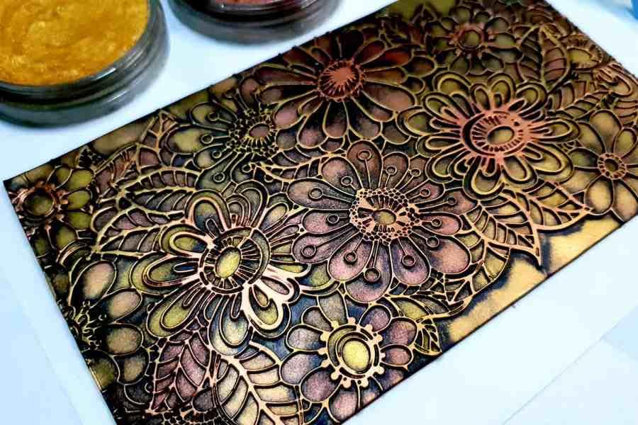 Flowers Doodle Lace - 120x170mm
