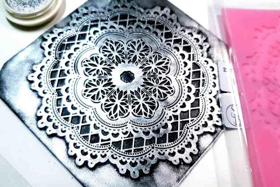Lace Mandala #1 - 115x115mm