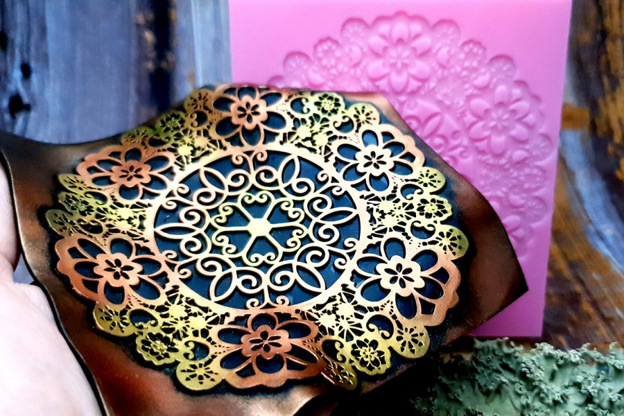 Lace Mandala #3 - 115x115mm