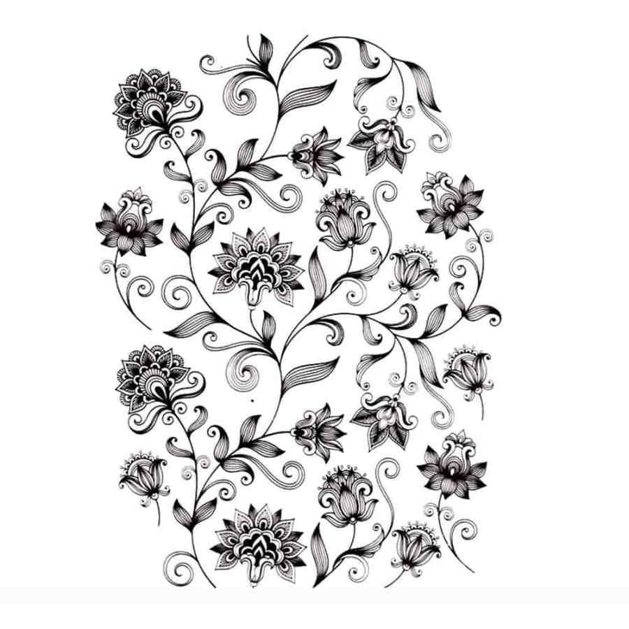 Pattern of Flowers 6