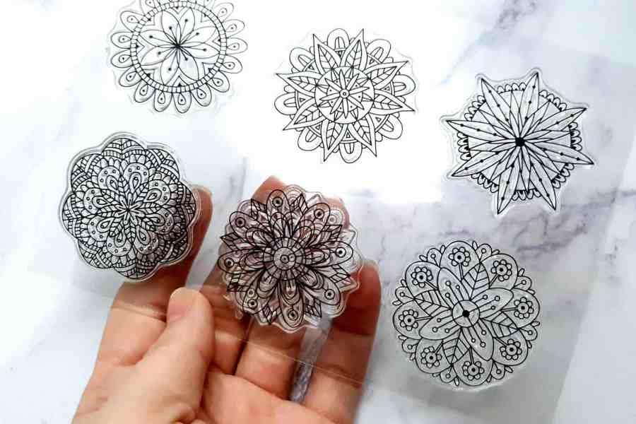 Mandala Flowers 4