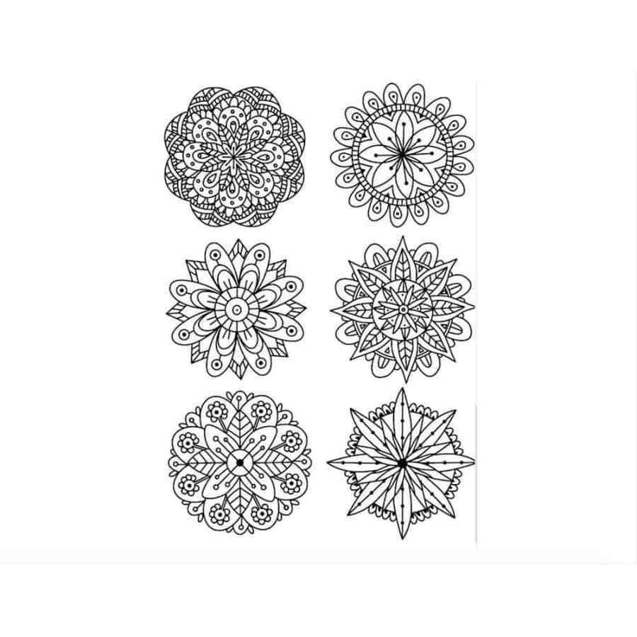 Mandala Flowers 7