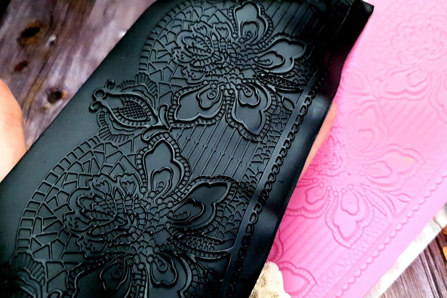 Flower Lace Silicone Texture (85x175mm)