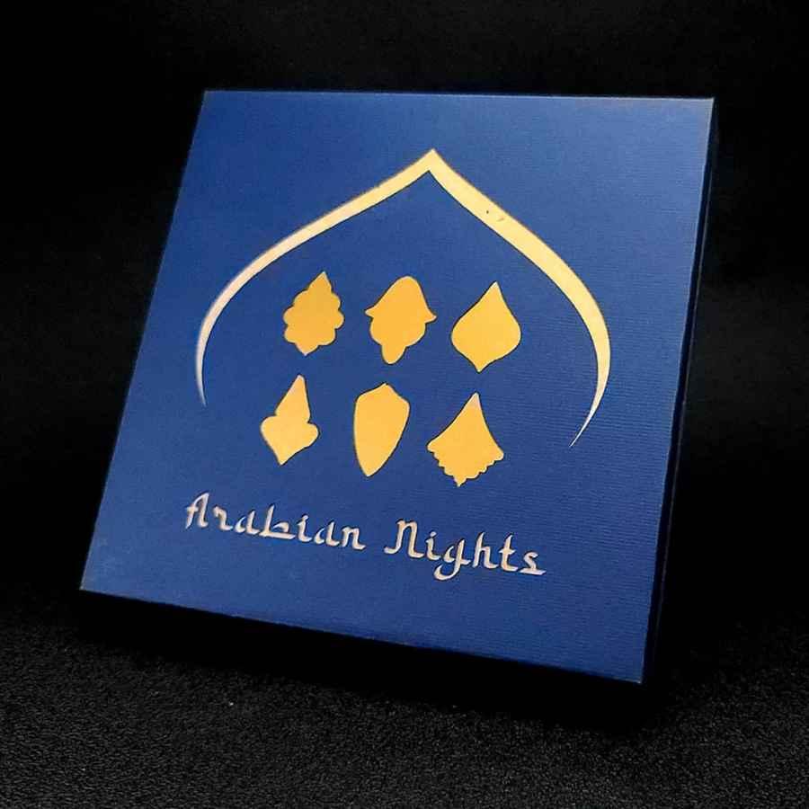 Arabian Nights Cutters - Set #2 of 6 mini cutters