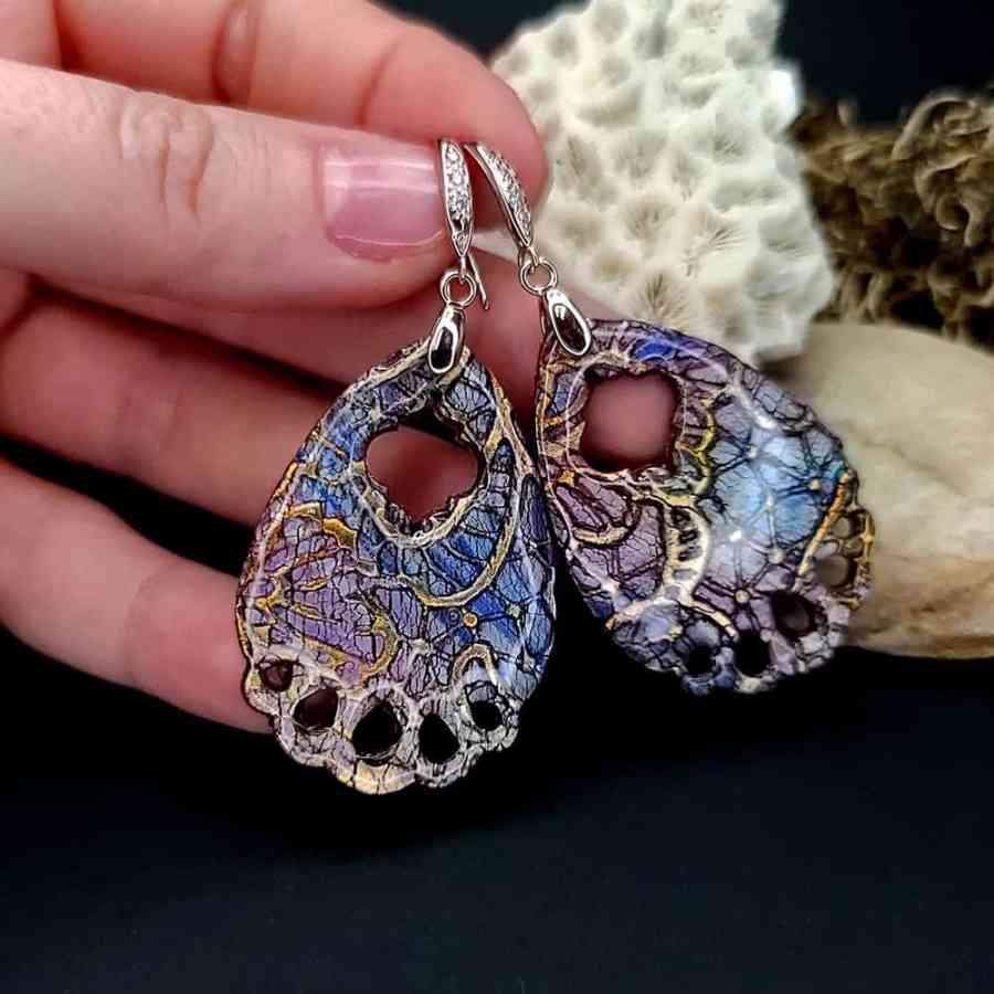 "Romantic Earrings ""Arabian Nights"""