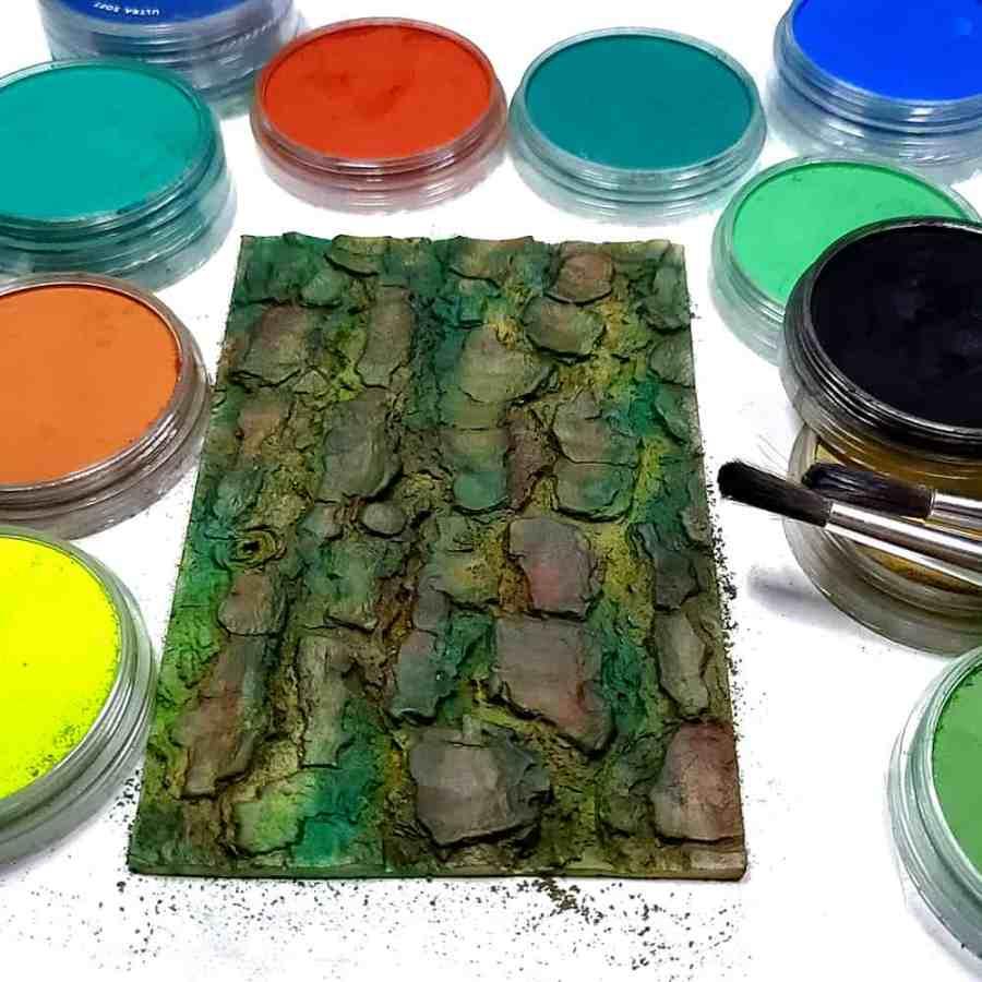 Tree Bark - Silicone Texture (145x100mm)