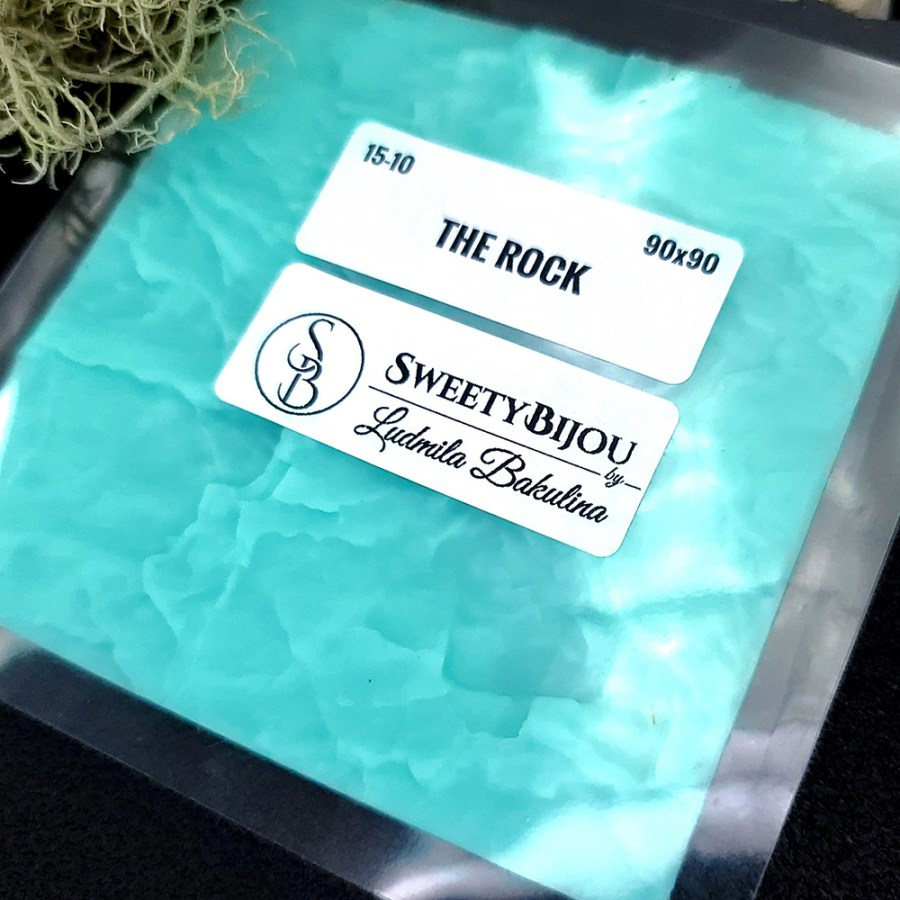 The Rock - Silicone Texture (90x90mm)