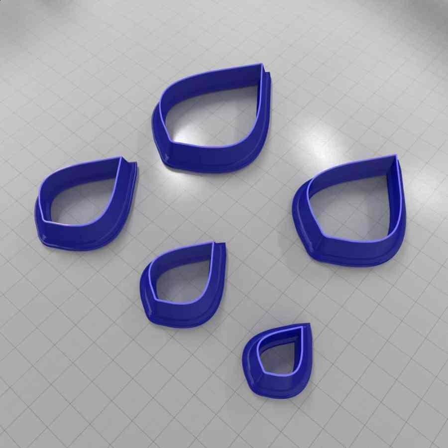 Set of 5 cutters: DROPS#17