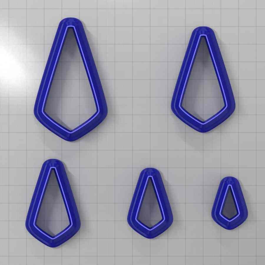 Set of 5 cutters: DROPS#35