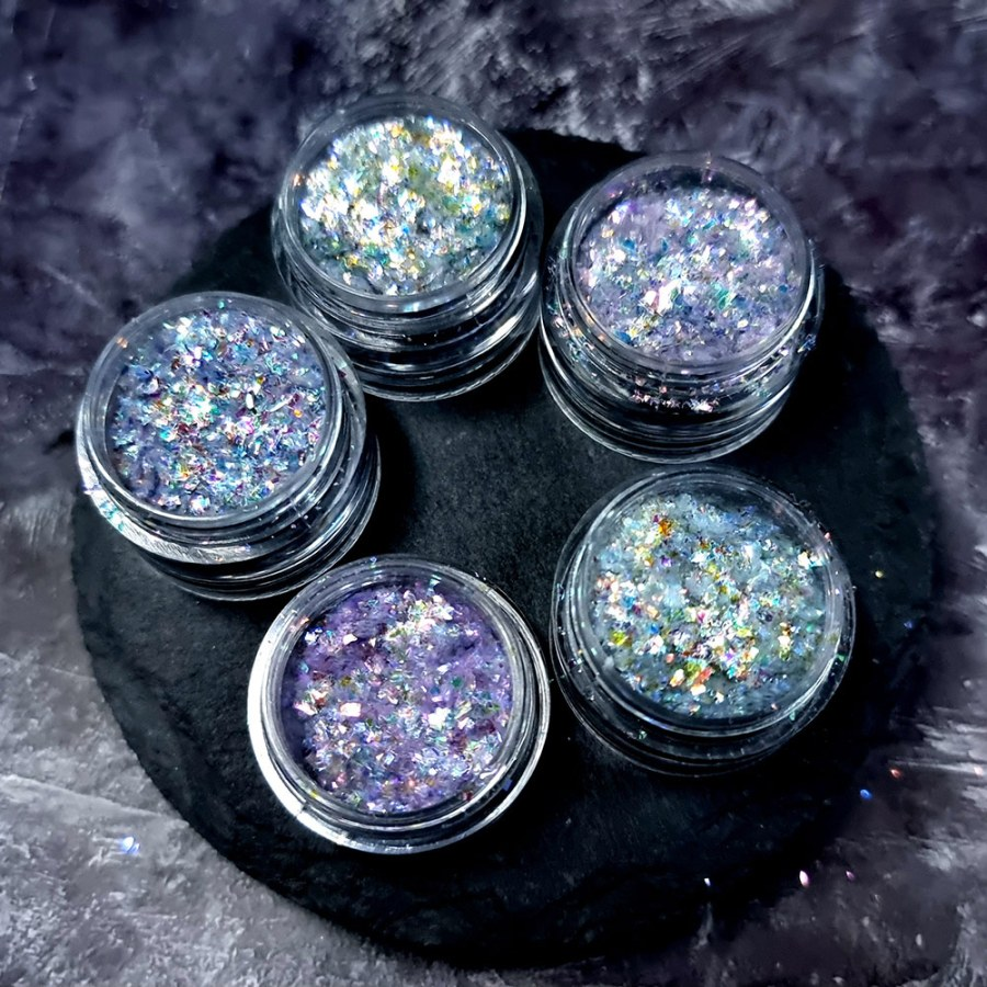 Set of 5 Chameleon Powders