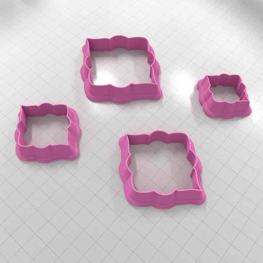 Set of 4 cutters - Focal Element #8 - 3,4,5,6cm
