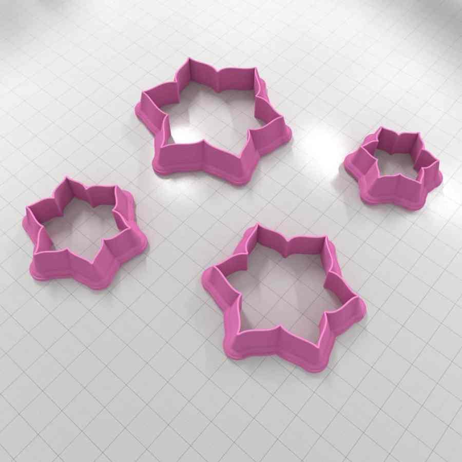 Set of 4 cutters – Focal Element #18 – 3,4,5,6cm