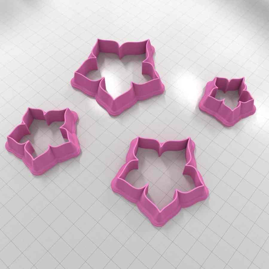 Set of 4 cutters – Focal Element #19 – 3,4,5,6cm