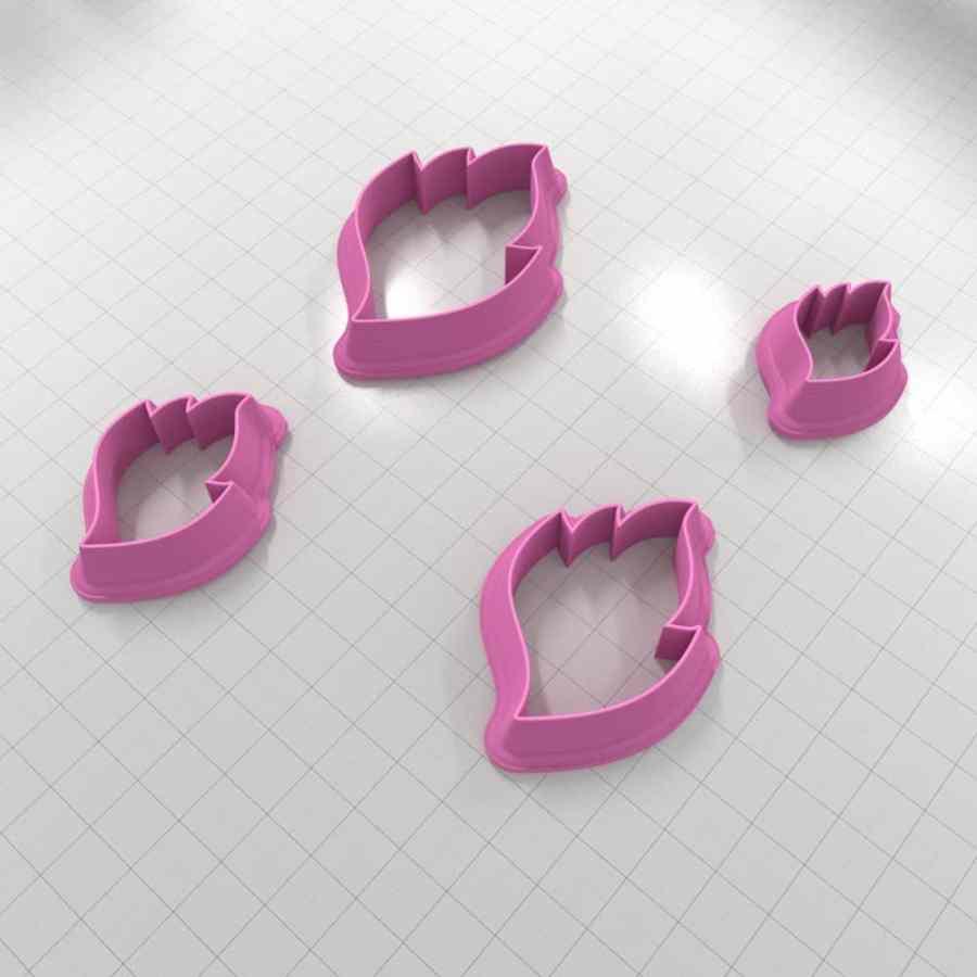 Set of 4 cutters – Focal Element #27 Left – 3,4,5,6cm