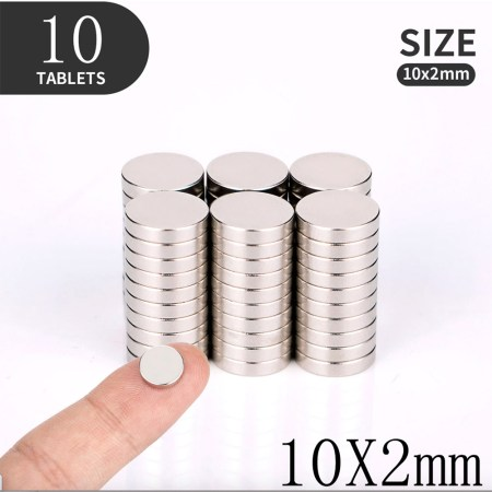10 Strong Magnets for Jewelry (10×2)