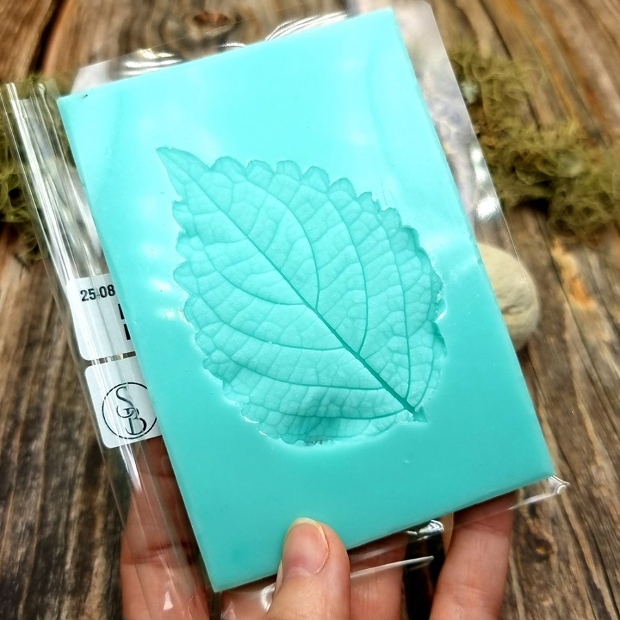 Perilla Blumei Flower - Texture-mold of real leaf #1