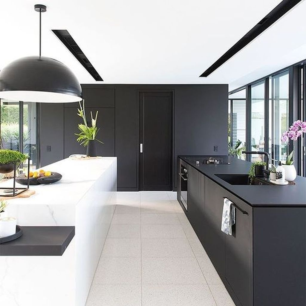 Amazing White Kitchen Design Ideas Which Will Make You Like Cooking 04