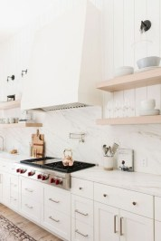 Amazing White Kitchen Design Ideas Which Will Make You Like Cooking 22