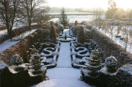 Amazing Winter Garden Landscape 16